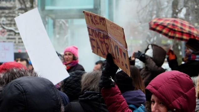 میزبانی این راهپیمایی از سوی نمایندهی شورای شهر جاش زاکیم، پسر رهبر فقید حقوق شهروندی، لنی زاکیم، انجام شد