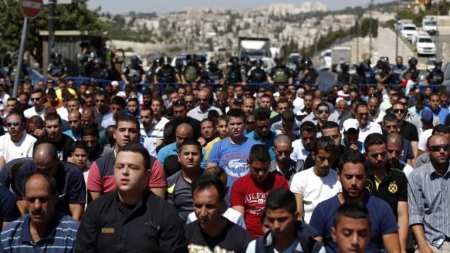 سکنهی عرب اورشلیم