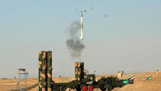 سامانه موشکی اس ۳۰۰ روسی با موفقیت در ایران تست شد