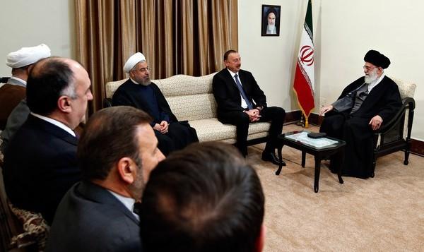 خامنه ای مدعی شد: اسرائیل در جهت تضعیف روابط ایران و آذربایجان تلاش می کند