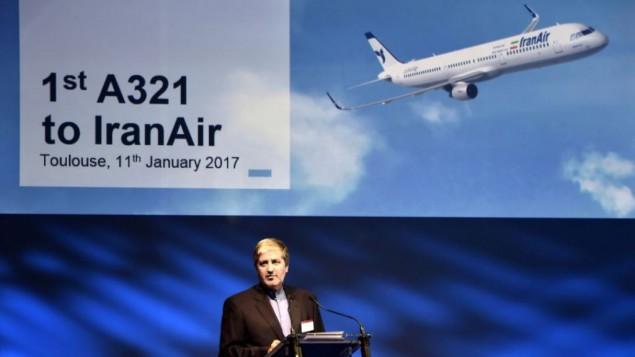 نخستین هواپیمای دوربُرد ایرباس به ایران تحویل داده شد