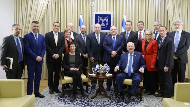 پرزیدنت ریولین میزبان دیپلماتهای اسرائیلی است که در آمریکا به خدمت مشغولاند