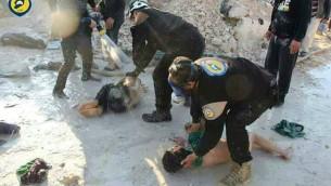 بمباران شیمیایی در سوریه