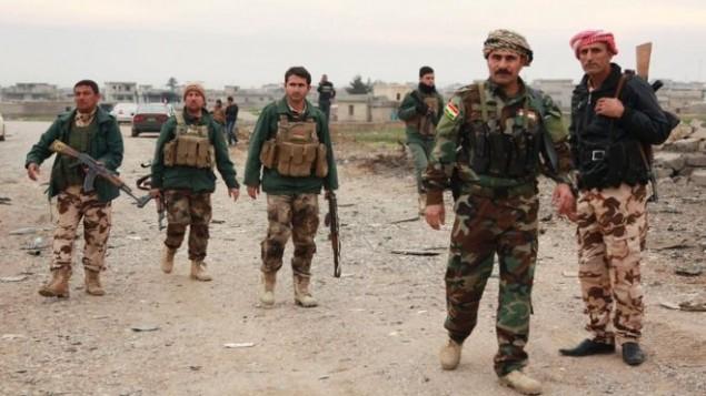 جنگجوی کرد در سوریه و عراق