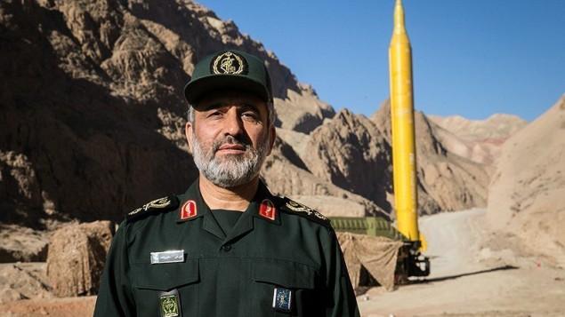 سردار حاجیزاده فرمانده نیروی هوافضای سپاه پاسداران