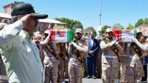 کشته شدن دو مامور مرزی ایرانی