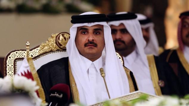 تمیم بن احمد، امیر قطر