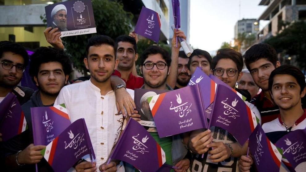 تهران (10 مه 2017) (AP Photo/Ebrahim Noroozi)