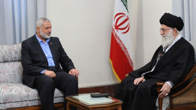خامنه ای و رهبر حماس