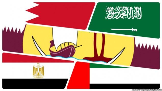 بحران میان کشورهای عرب منطقه
