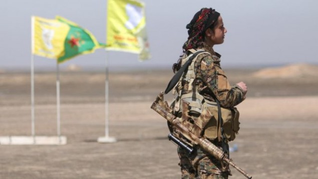 نیروهای کُرد سوری