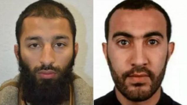 دو تن از عوامل تروریستی لندن