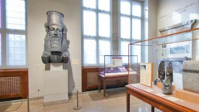 توضیح تصویر: موزه ایران رابرت و دبورا آلیبر در دانشگاه شیکاگو