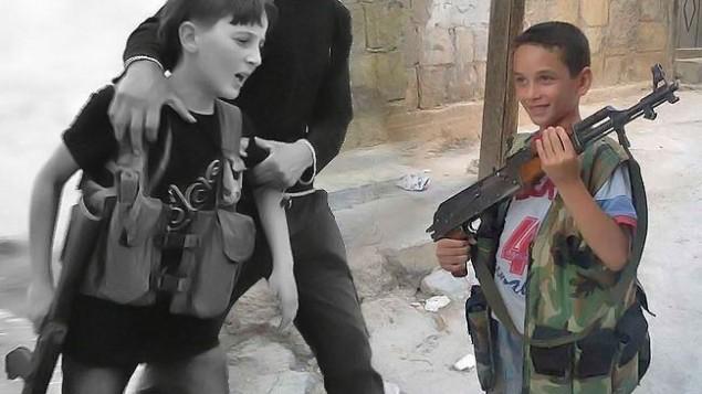 سوء استفاده از كودكان سوري