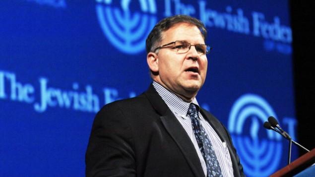 جری سیلورمن مدیرعامل فدراسیون یهود آمریکای شمالی