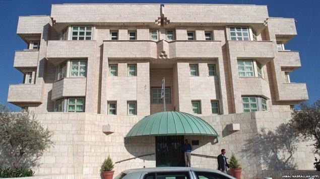 سفارت اسراییل در اردن