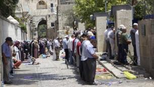 برخی از مسلمانان معتقدند جنگ مذهبی در اورشلیم قریبالوقوع است، برخی میگویند هماکنون براه افتاده