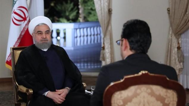 حسن روحانی در برنامه تلویزیونی