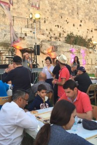 مسابقات تخته نرد اورشلیم، 24 اوت 2017 (عکس: تایمز اسرائیل)