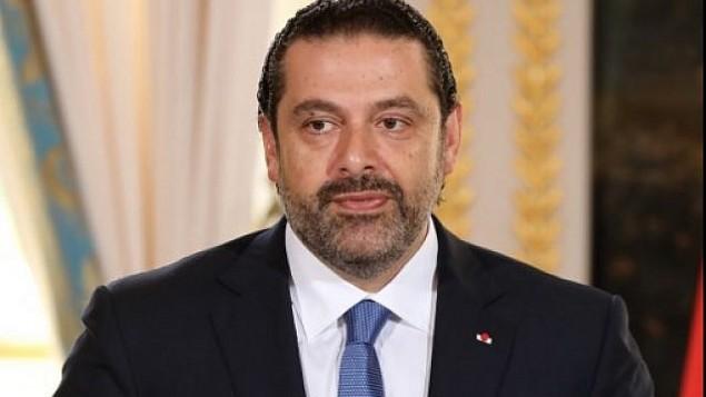 توضیح تصویر: نخست وزیر لبنان سعد حریری حین گفتگو با خبرنگاران در کنفرانس مطبوعاتی به همراه امانوئل مکرون رئیس جمهور فرانسه در کاخ الیزهی پاریس – ۱ سپتامبر ۲۰۱۷