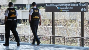 ماموران مرزی ضد تروریسم آمریکا