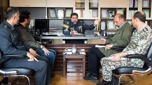 سرتیپ دوم علیرضا الهامی معاون عملیات قرارگاه پدافند هوایی خاتم الانبیا در ایران
