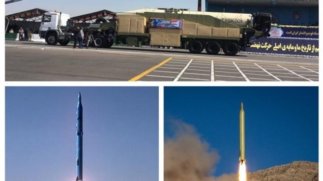 موشکهای دو هزار کیلومتری سپاه
