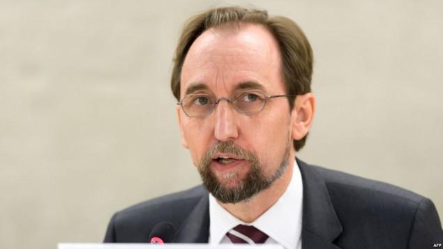 زید رعدالحسین، کمیسر عالی حقوق بشر سازمان ملل