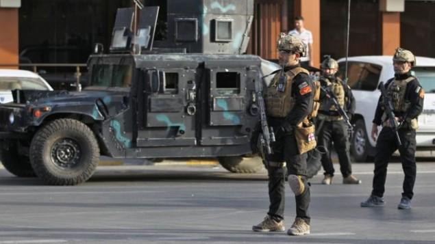 استقرار نیروهای ارتش عراق در شهر کردنشین کرکوک