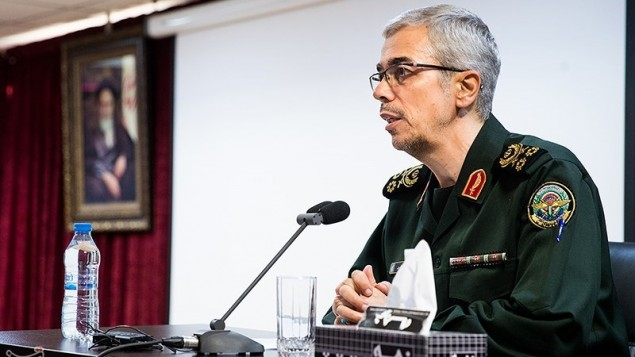 پاسدار سرلشکر باقری رئیس ستاد کل نیروهای مسلح ایران