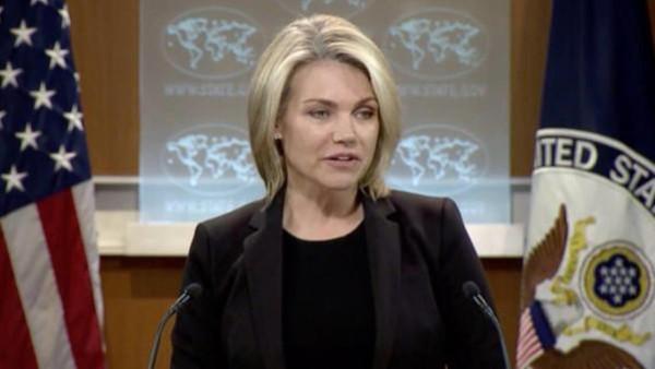 هدر ناوئرت، سخنگوی وزارت خارجه آمریکا
