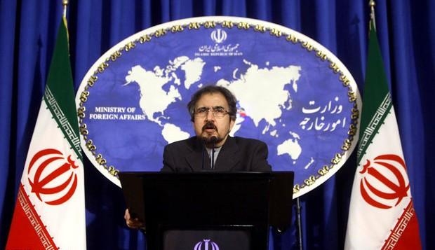 بهرام قاسمی سخنگوی وزارت امور خارجه ایران