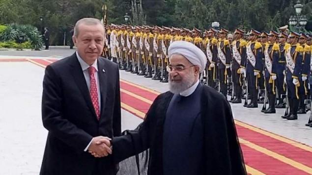 اردوغان عازم تهران شد
