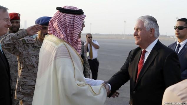 ورود تیلرسون به عربستان