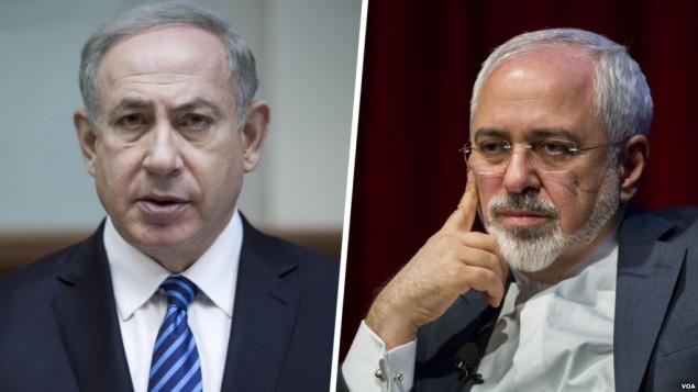 ظریف - نتانیاهو