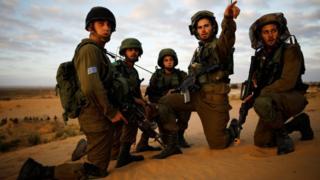 تصاویری از مانور اخیر نیروهای اسرائیلی