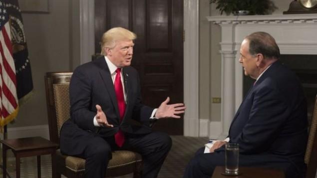 دونالد ترامپ در مصاحبه با مایک هاکبی درباره ایران
