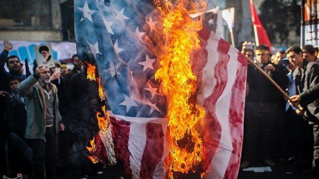 راهپیمایی در تهران به مناسبت سالگرد اشغال سفارت آمریکا