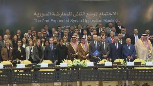 نشست مخالفات اسد در ریاض
