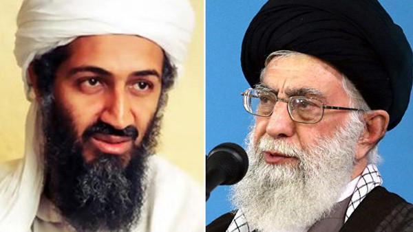 خامنه ای - بن لادن