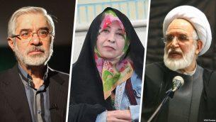 رهبران جنبش سبز