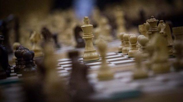 نمایی از یک رقابت جهانی شطرنج