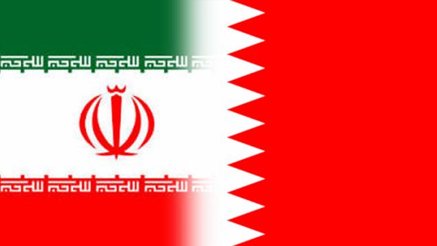 پرچم های ایران و بحرین