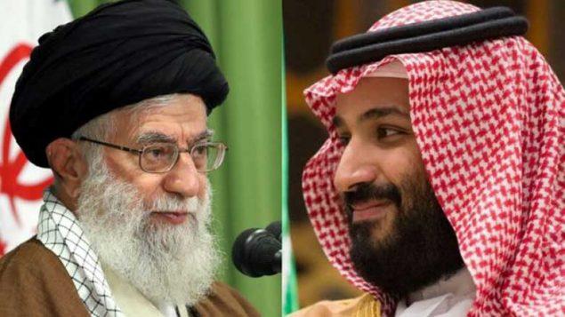ولیعهد عربستان و رهبر جمهوری اسلامی