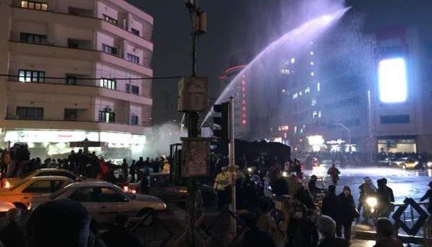 سرکوب در تهران