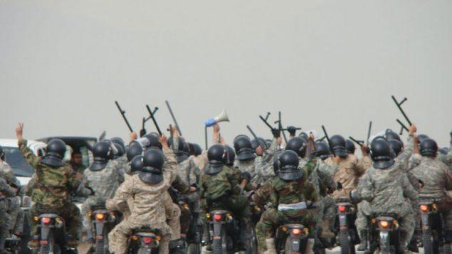 نیروهای ضد شورش سپاه