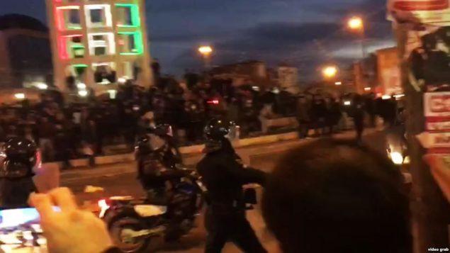 سرکوب خونین معترضان در ایران