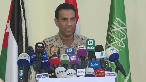 سرتیپ خلبان ترکی بن صالح المالکی، سخنگوی ائتلاف عربی