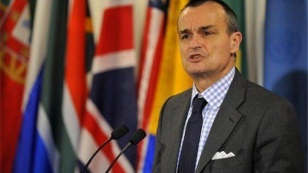 جرارد آرو، سفیر فرانسه در آمریکا