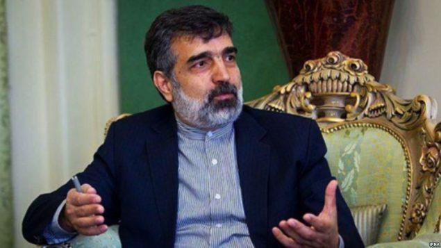 بهروز کمالوندی معاون سازمان انرژی اتمی ایران